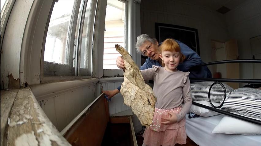 la busqueda del tesoro de una niña de 6 años 1