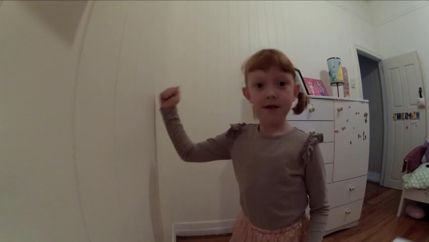 la busqueda del tesoro de una niña de 6 años 6
