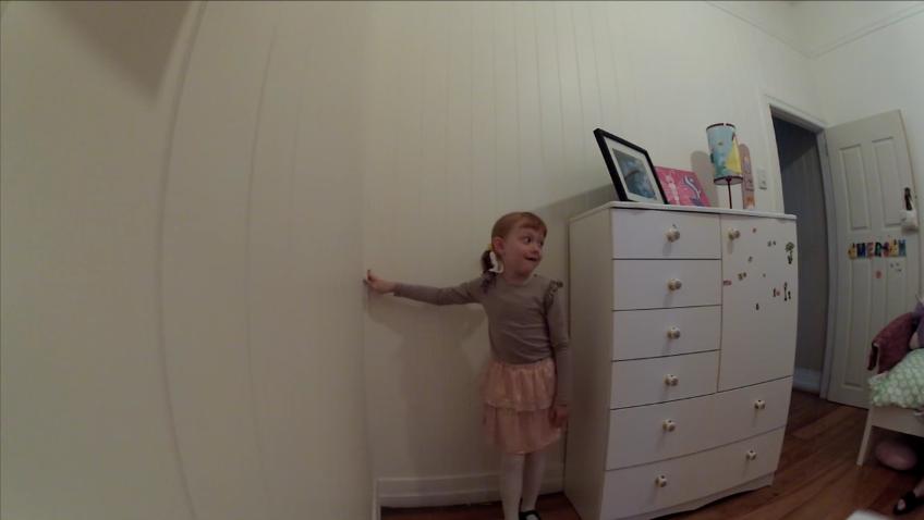 la busqueda del tesoro de una niña de 6 años 7