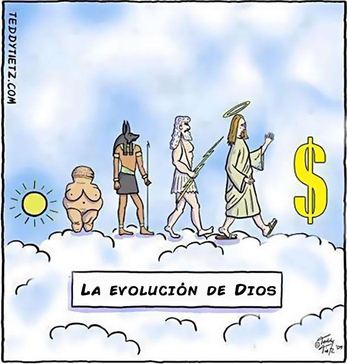 la evolucion en comicas viñetas 16