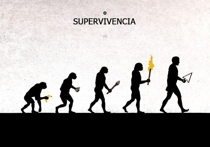 la evolucion en comicas viñetas 18