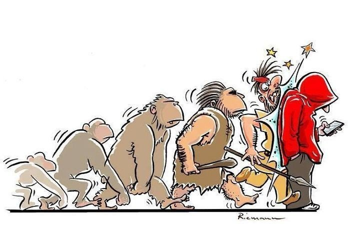 la evolucion en comicas viñetas 19