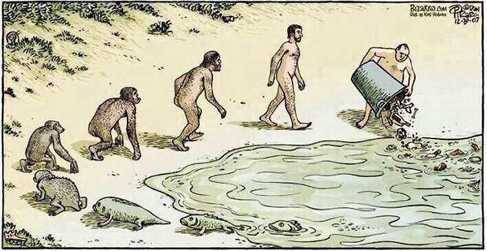 la evolucion en comicas viñetas 2