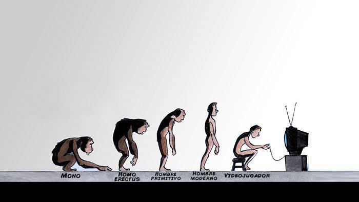 la evolucion en comicas viñetas 3