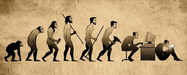 la evolucion en comicas viñetas 7