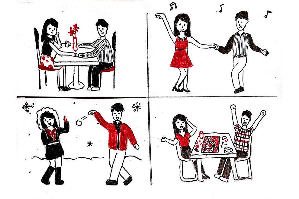 los problemas de llevar una relacion a distancia contado en viñetas 12