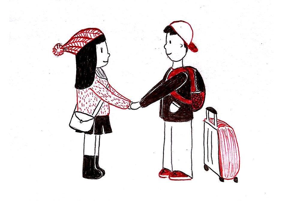 los problemas de llevar una relacion a distancia contado en viñetas 15