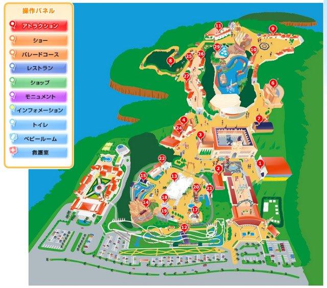 mapa-del-parque-españa