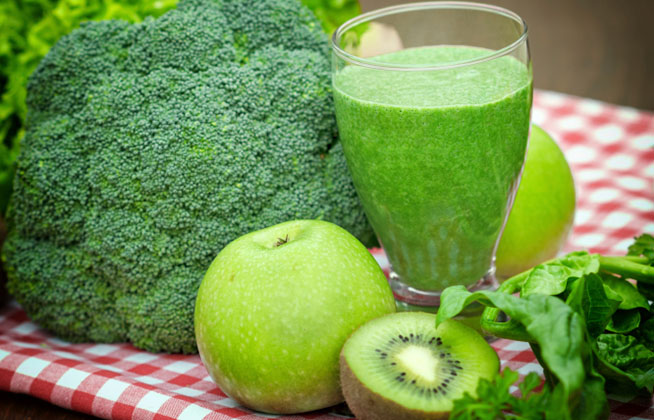 Juice - green smoothie