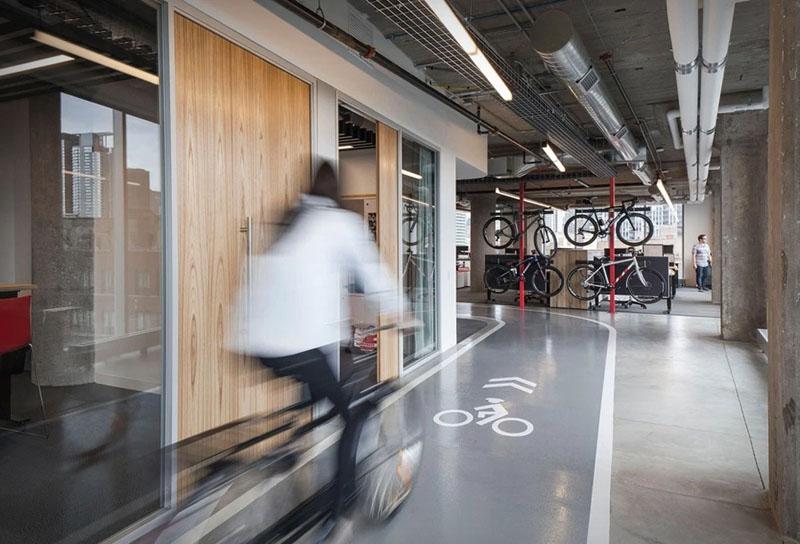 asi son las oficinas de sram, una empresa que fabrica componentes para bicicletas 1