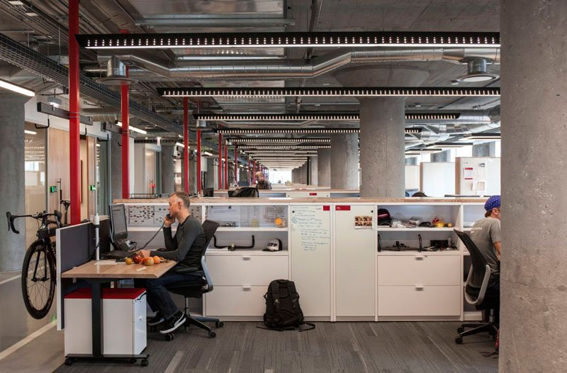 asi son las oficinas de sram, una empresa que fabrica componentes para bicicletas 4