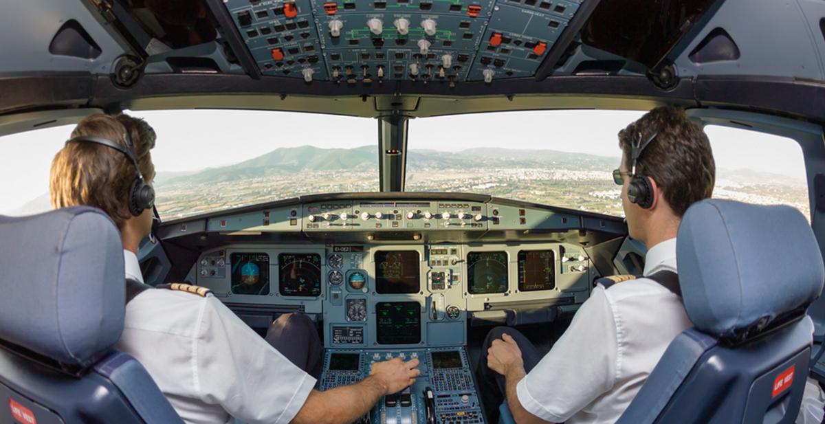 aterrizar un avion sin visibilidad