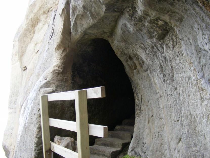 escalera acantilado 3