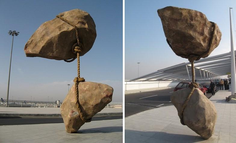 estatuas que desafian a la gravedad 1