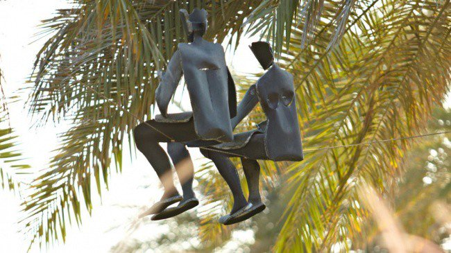estatuas que desafian a la gravedad 2