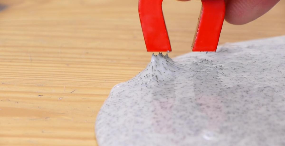 experimento casero fabrica tu propia pasta magnetica