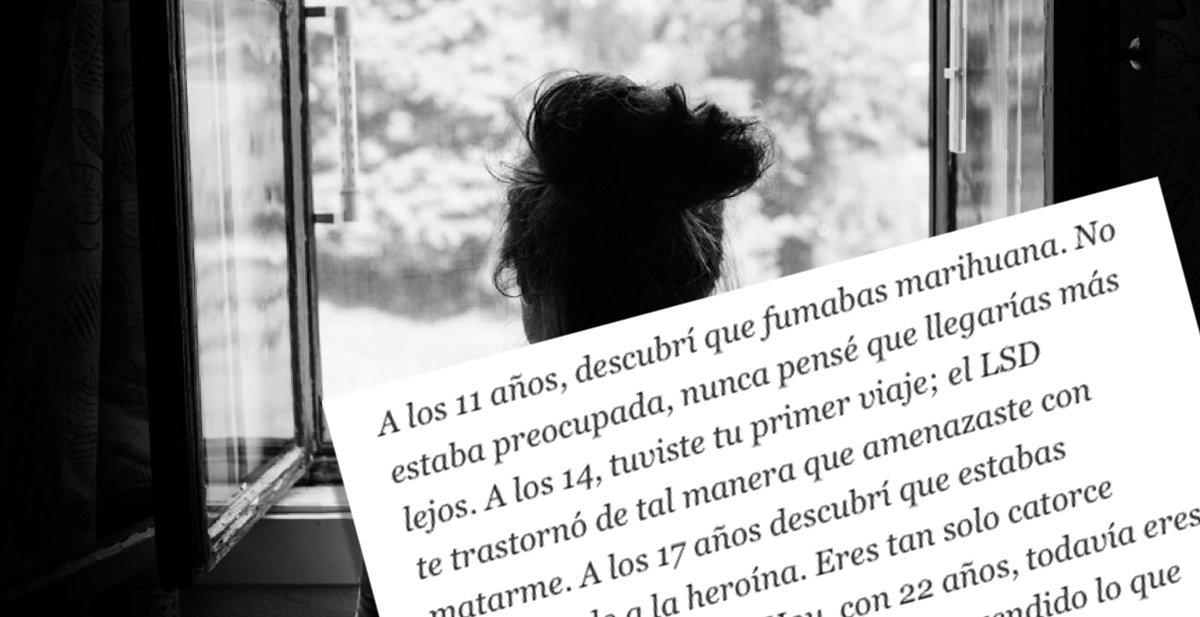 Así Se Siente La Hermana De Un Drogadicto La Voz Del Muro