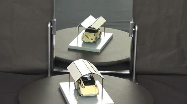 ilusion optica de garaje de Koukichi sugihara