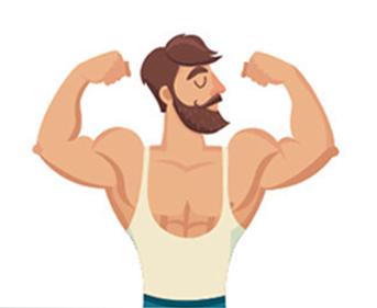 los beneficios de tener barba 9