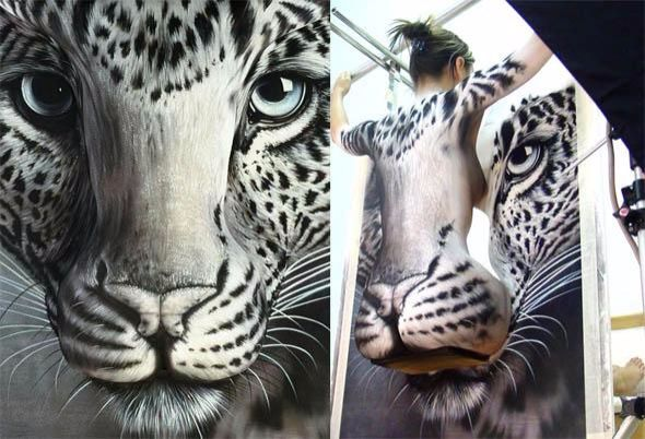 mujer oculta tigre blanco 4