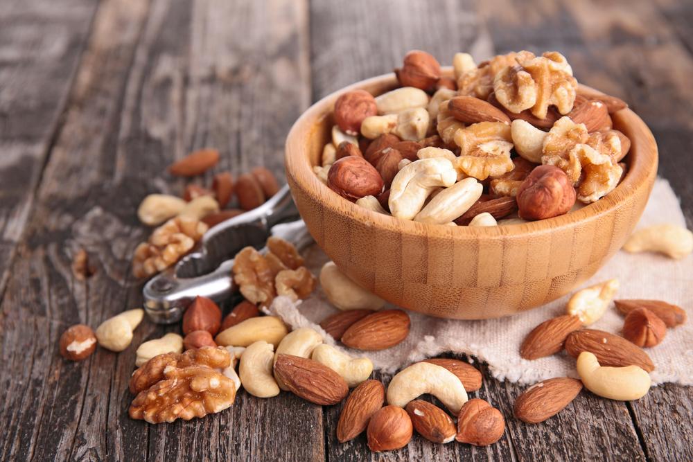 perder peso con frutos secos