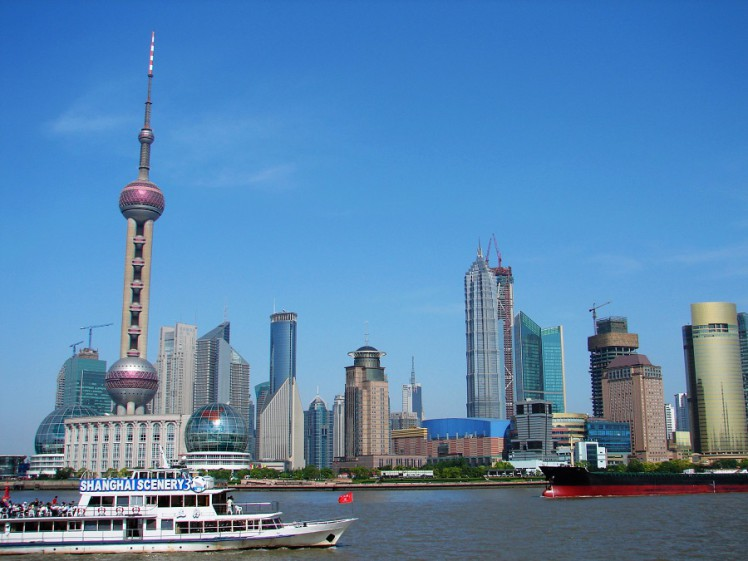 shanghai's landmark