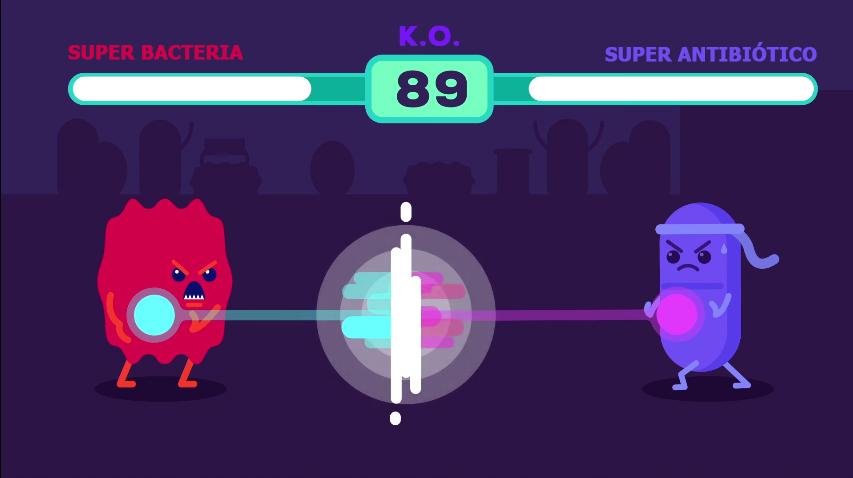 superbacteria vs superantibiotico