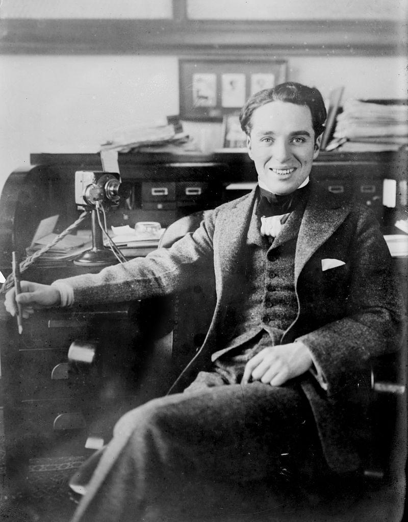 Chaplin - Aprox. 1910.