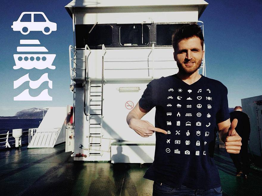 IconSpeak las camisetas que te ayudan a comunicarte en otros idiomas 1