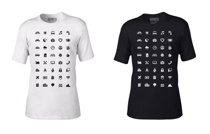 IconSpeak las camisetas que te ayudan a comunicarte en otros idiomas 2