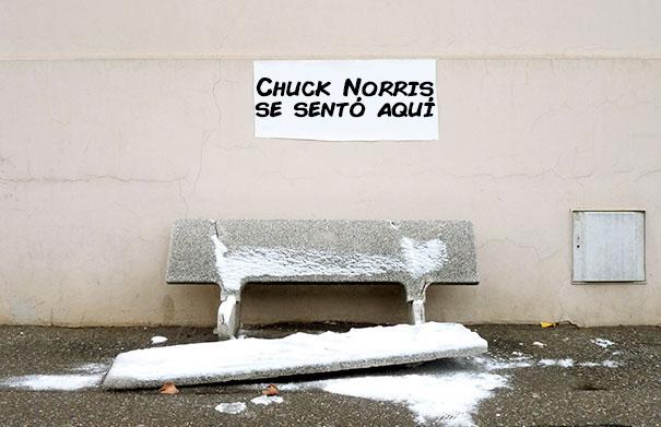 chuck norris se sento aqui