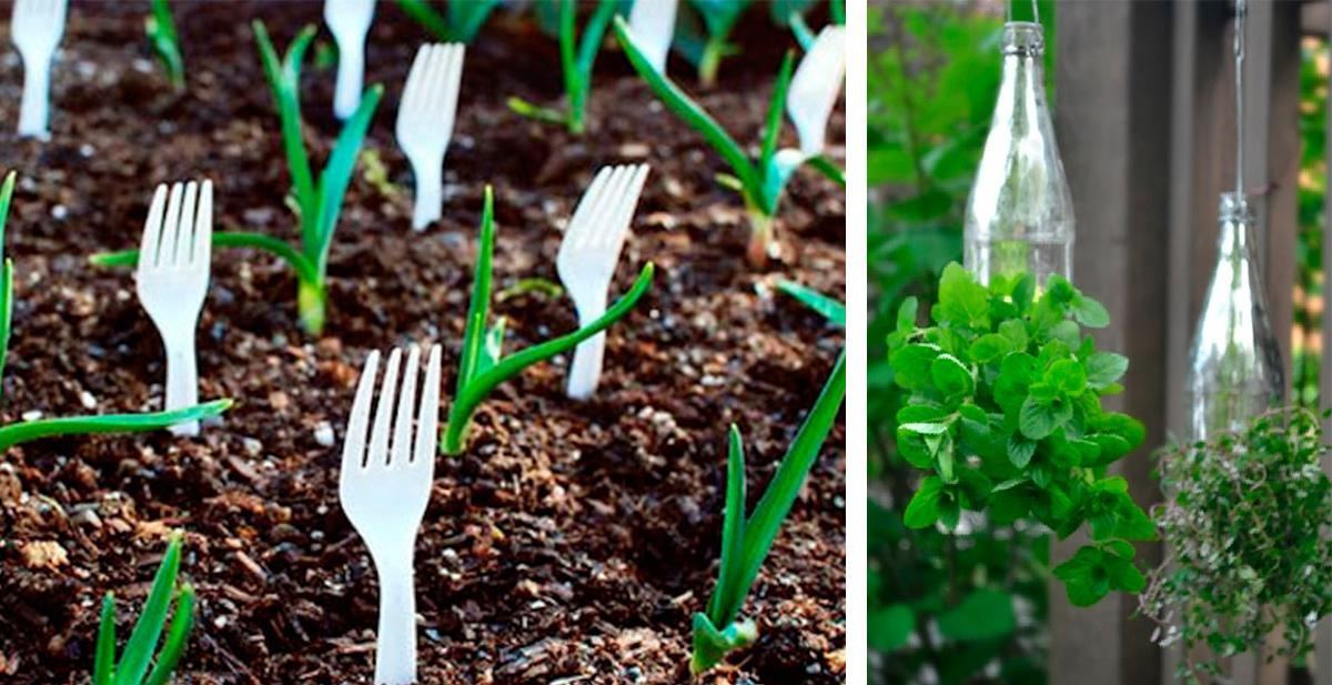 consejos y trucos baratos, utiles y faciles para el jardin
