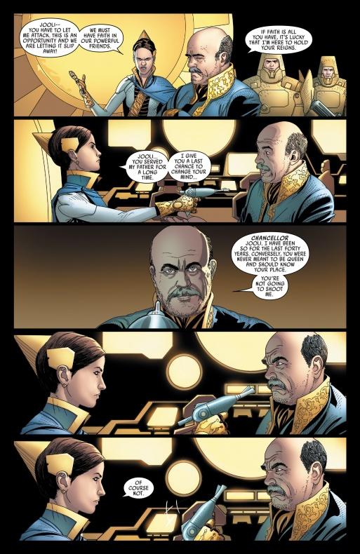 constantino romero hace un cameo en un comic de star wars