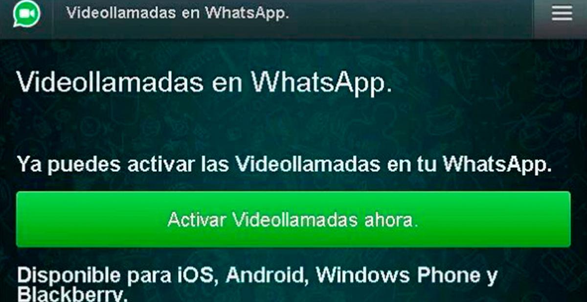 cuidado con el timo de las videollamadas en whatsapp