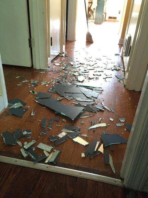 espejo roto