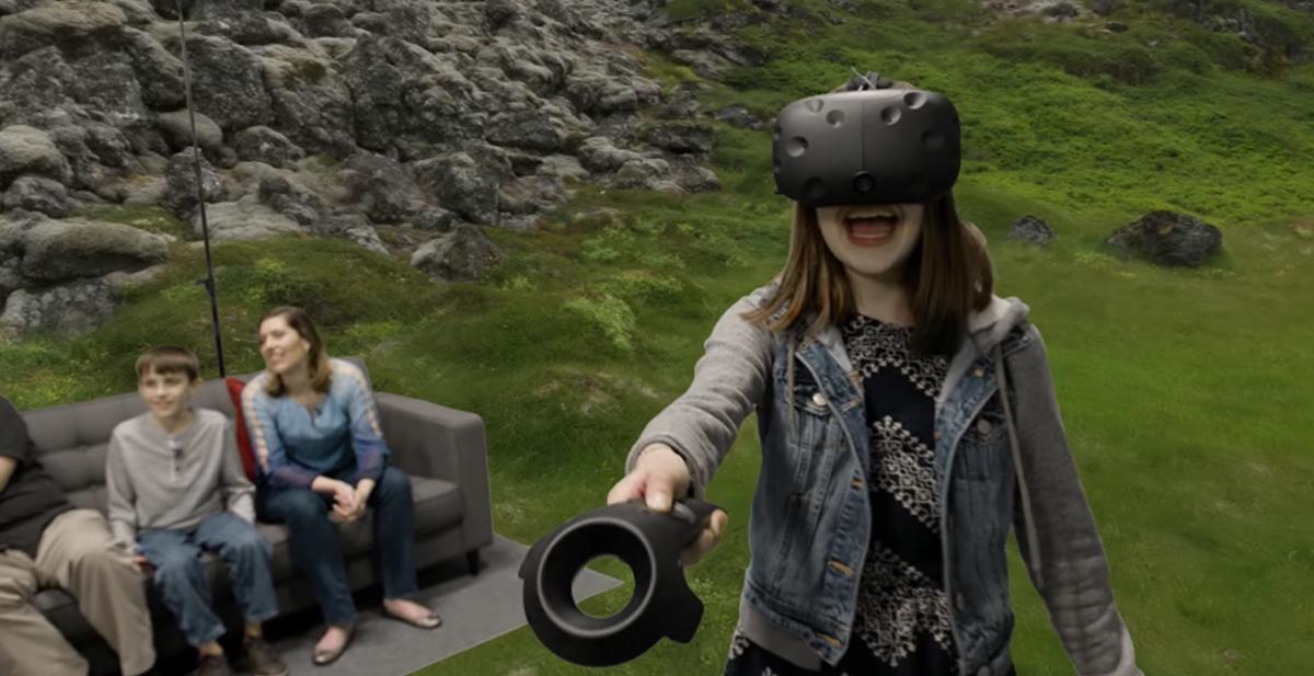 gafas htc vive realidad virtual