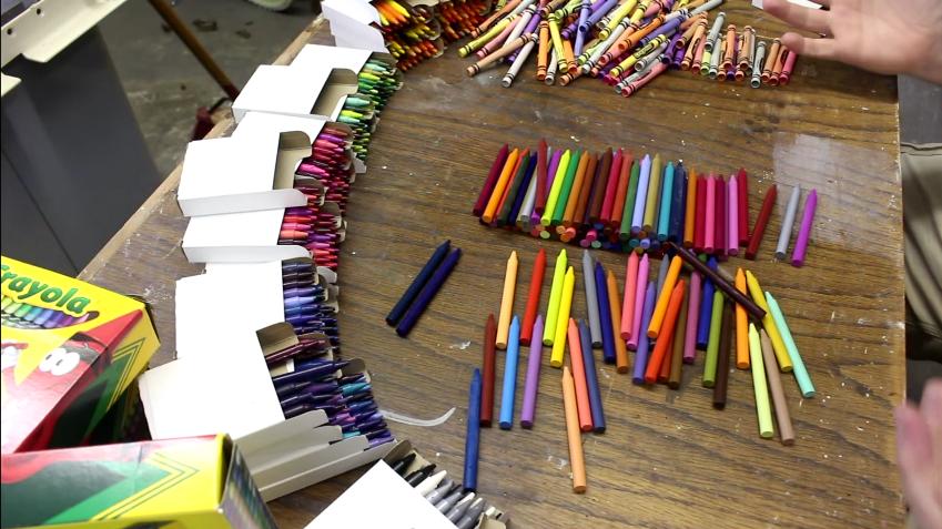 Ojalá y con 8 años hubiese tenido todas estas cajas de colores