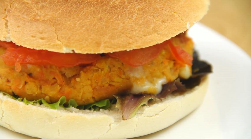 hamburgesa vegetal