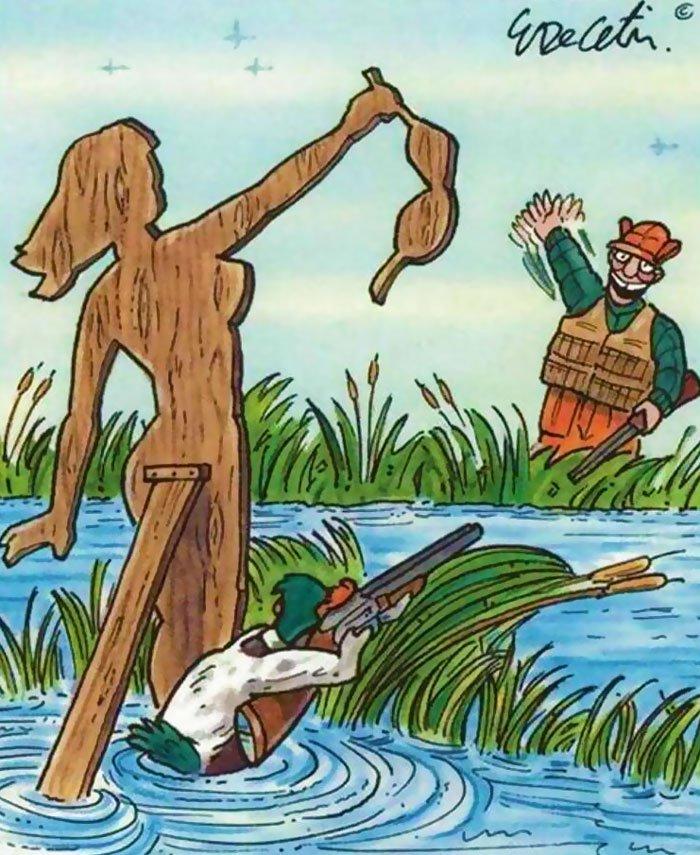 ilustraciones satiricas sobre animales en lugar de personas 13