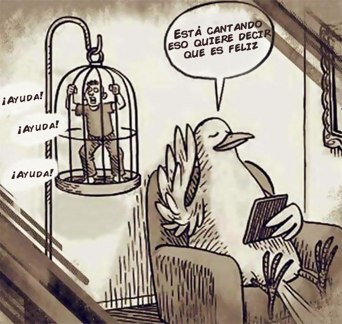 ilustraciones satiricas sobre animales en lugar de personas 71