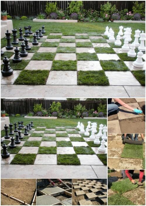 ajedrez de jardn