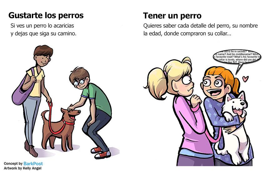 la diferencia entre ser un amante de los perros y un padre perruno 7