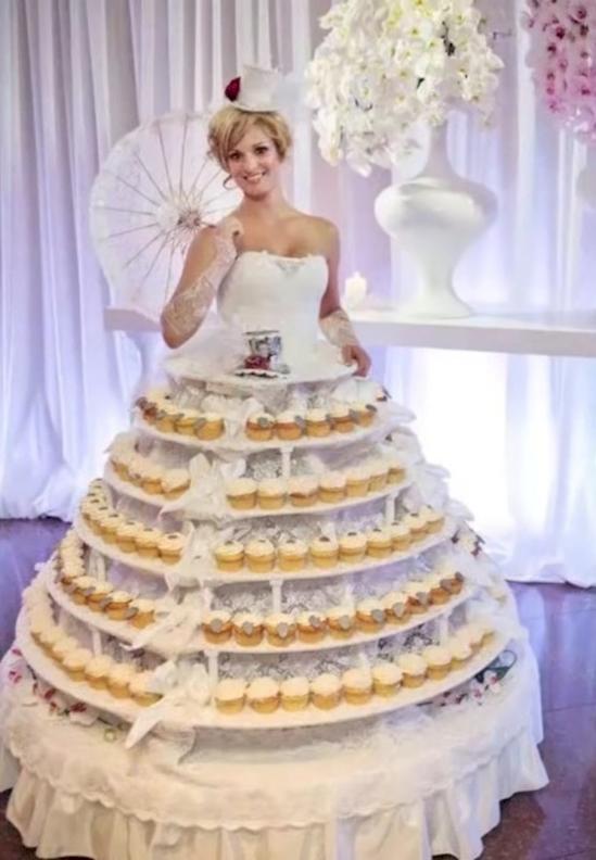 los vestidos de novia mas feo y ordinarios que se han visto jamas 1