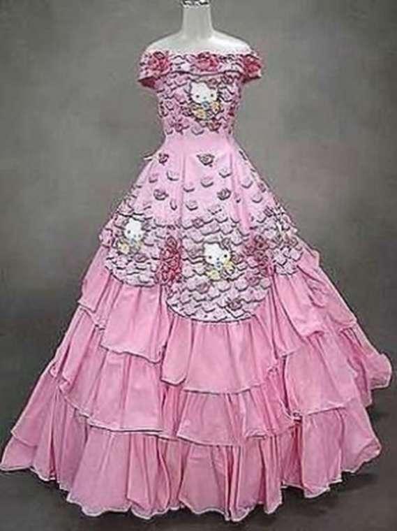 los vestidos de novia mas feo y ordinarios que se han visto jamas 23