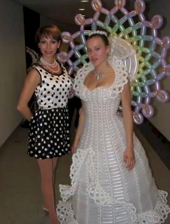 los vestidos de novia mas feo y ordinarios que se han visto jamas 8