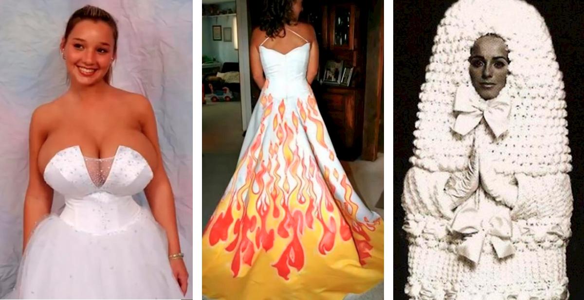 los vestidos de novia mas feos que hemos visto nunca