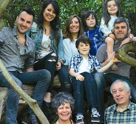 Marina y su familia hoy
