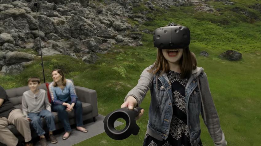 realidad virtual htc vr