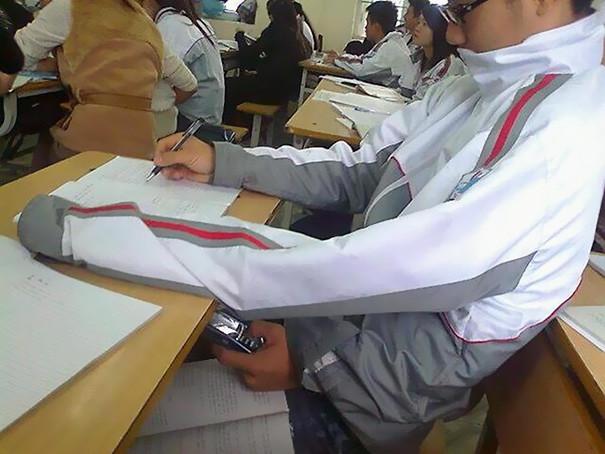 tecnicas ingeniosas para copiar en los examenes 2