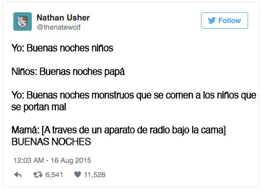 tweets sobre niños escritos por papa y mama 3